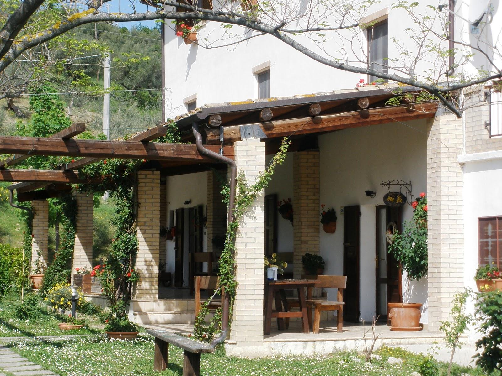 El mundo de marilo viaje y boda en italia - Porches de casas de campo ...