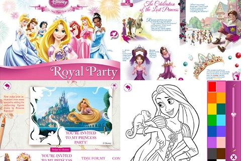 Disney Princess Royal Party app