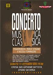Concerto di fisarmonica del M.° Mirco Stagno e Nicola Tommasini