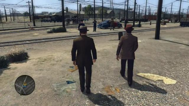 L A Noire PC Games Gameplay