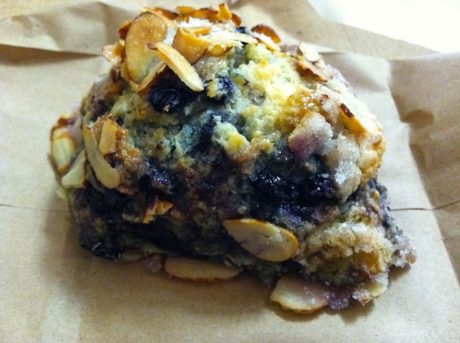 Blueberry Honey Almond Scone