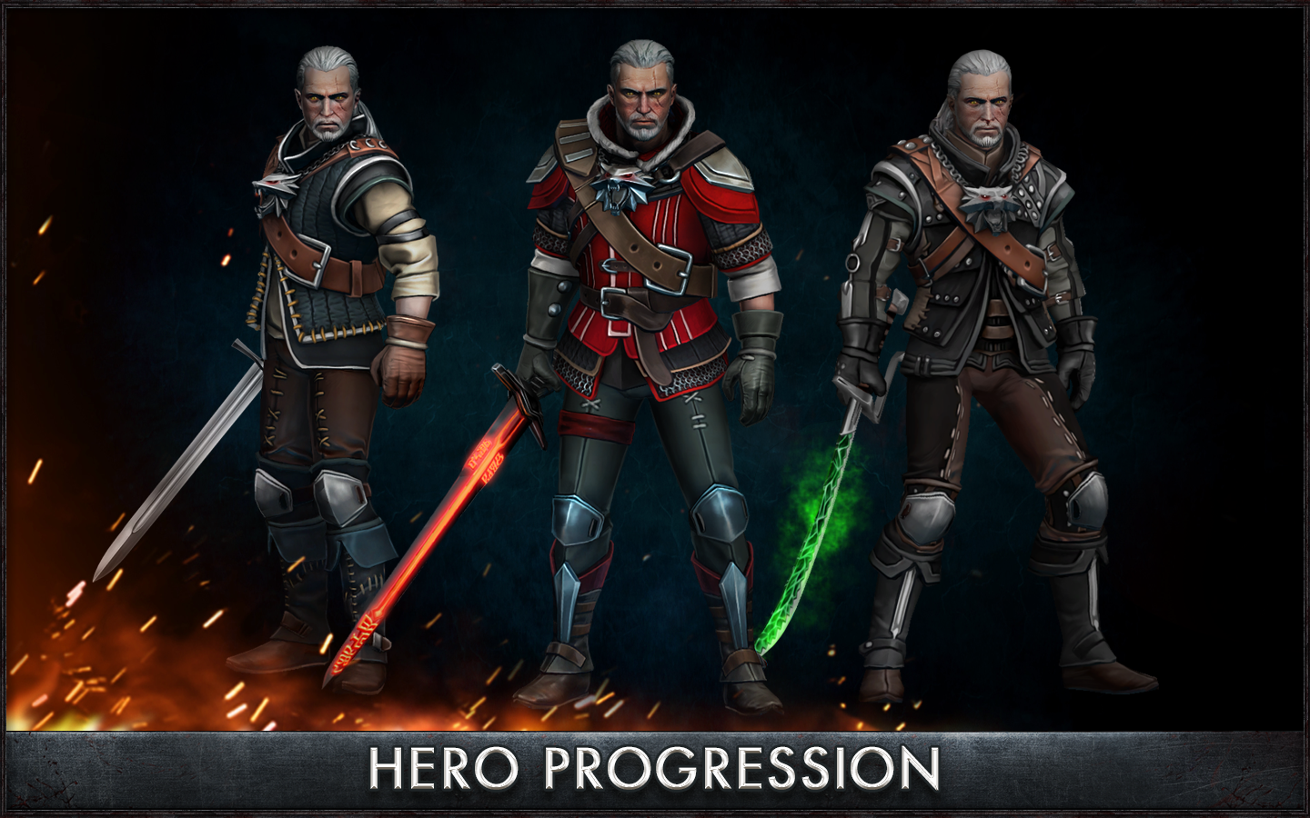 The Witcher Battle Arena v1.0.0 Apk Android