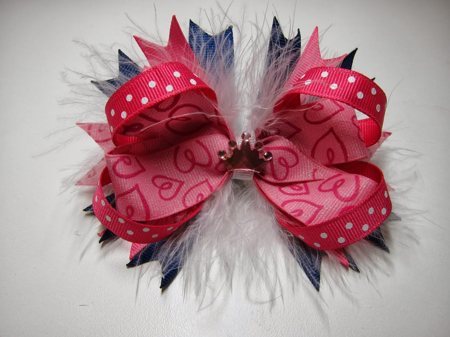 bowtique glam, bow, homemade bow, karrie, etsy