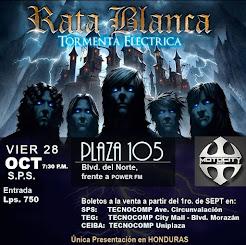 """RATA BLANCA EN LA """"PLAZA 105"""" (HONDURAS) - 28/10/2016"""