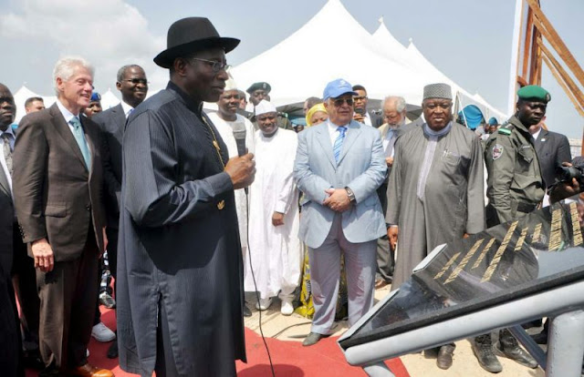 Pres. Jonathan Commends Lagos Government For Eko Atlantic Project (READ FULL SPEECH)