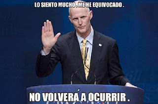 Meme Gobernador de Florida-Rey