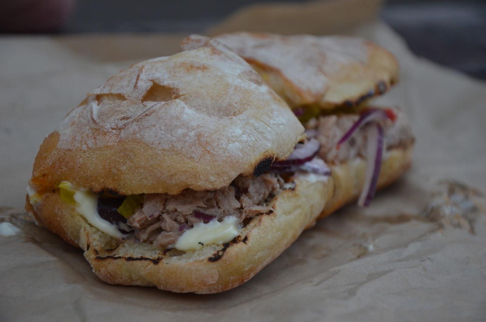Devil 39 s dill push the plate for Best tuna fish sandwich
