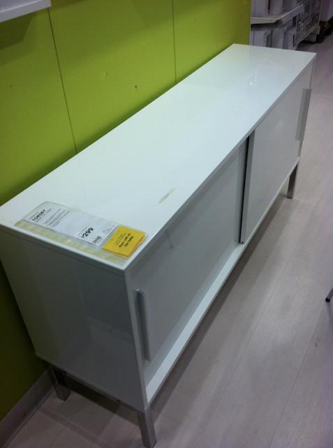 IKEA Sideboard: Sleek & Shiny