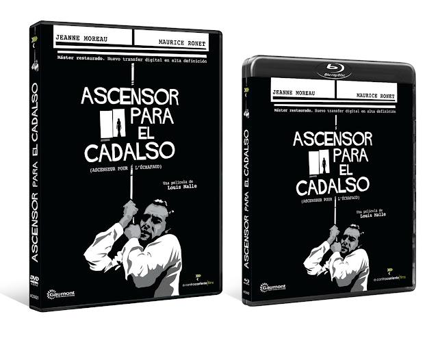 A la venta en DVD y Blu-ray 'Ascensor para el Cadalso' de Louis Malle