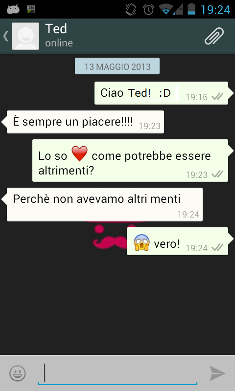 come far l amore e chat
