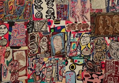 Jean Dubuffet La ronde de images [1977]