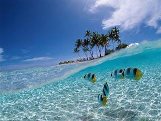 gambar pemandangan alam , gambar pemandangan laut