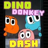 Dino Donkey Dash   Juegos15.com