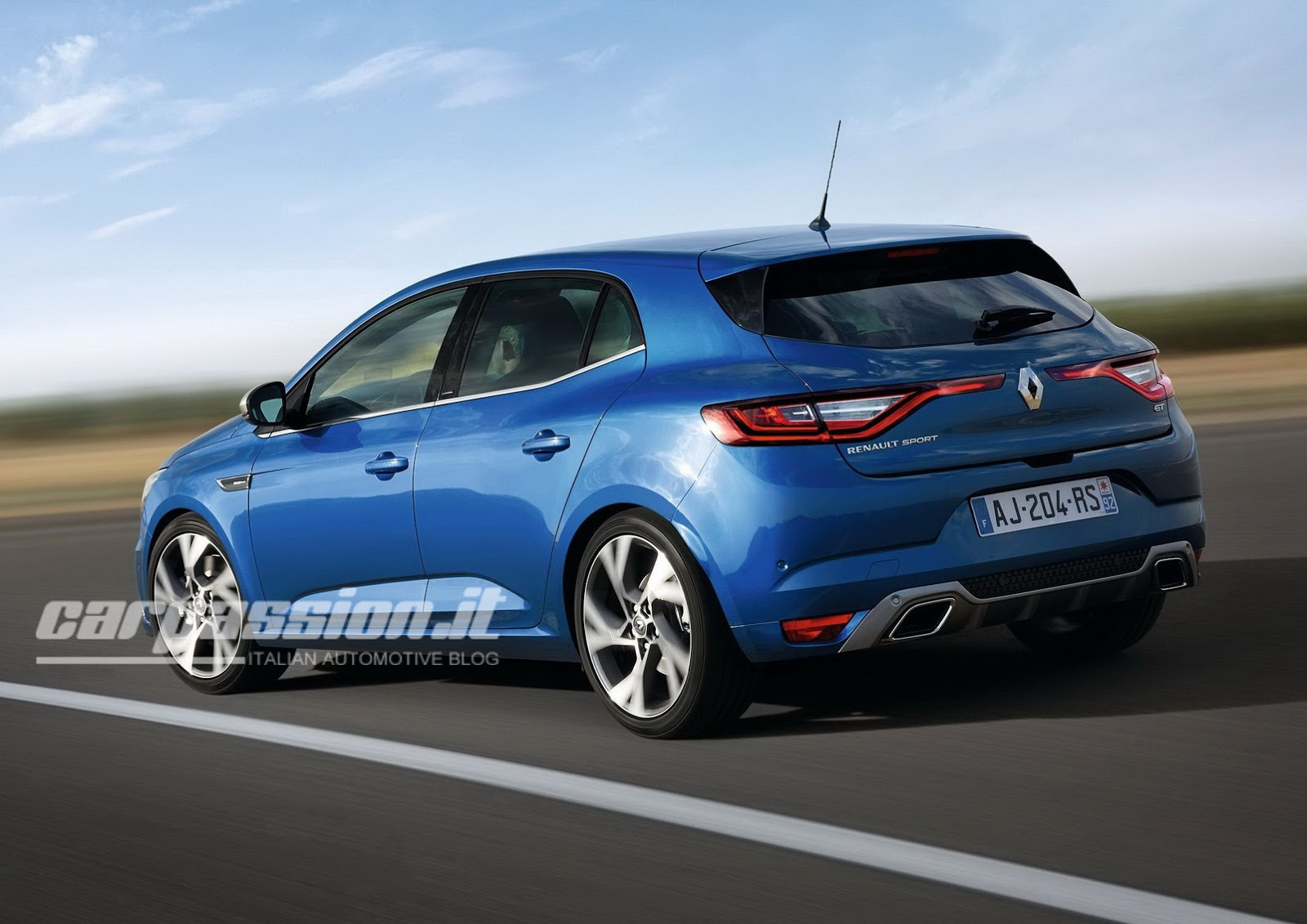 all new 2016 renault megane revealed in official photos. Black Bedroom Furniture Sets. Home Design Ideas