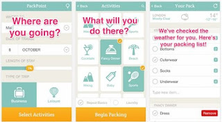 This amazing application is your best friend in the packing and planning stage of the trip