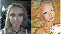 Valeria Lukyanova Foto Sebelum Sesudah Make Up Barbie | Galeri Info Unik