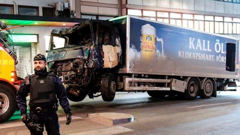 SWEDEN TERRORIST TRUCK ATTACK