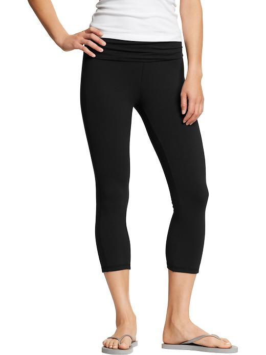 Yoga Pants Old Navy Old Navy Foldover Yoga Pants