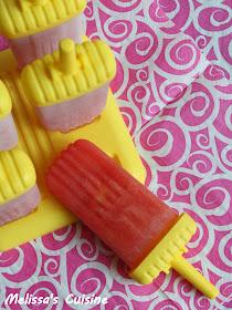Melissa's Cuisine: Watermelon Popsicles