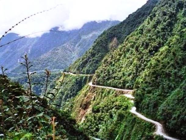 Veja as 5 estradas mais perigosas do mundo