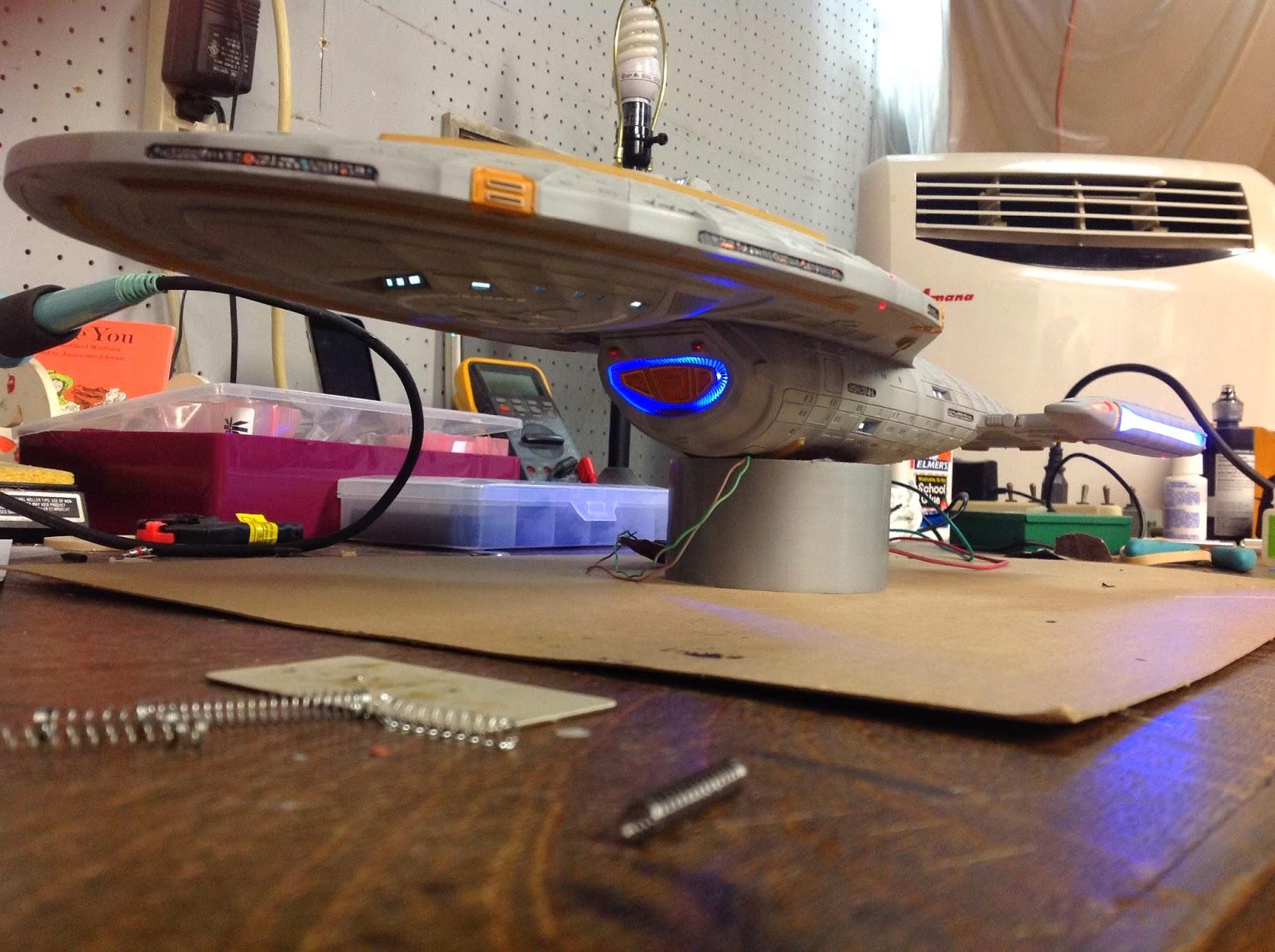 Star Trek scale model Voyager