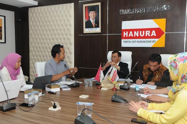 Koalisi Masyarakat Sipil Bertandang ke Fraksi Hanura