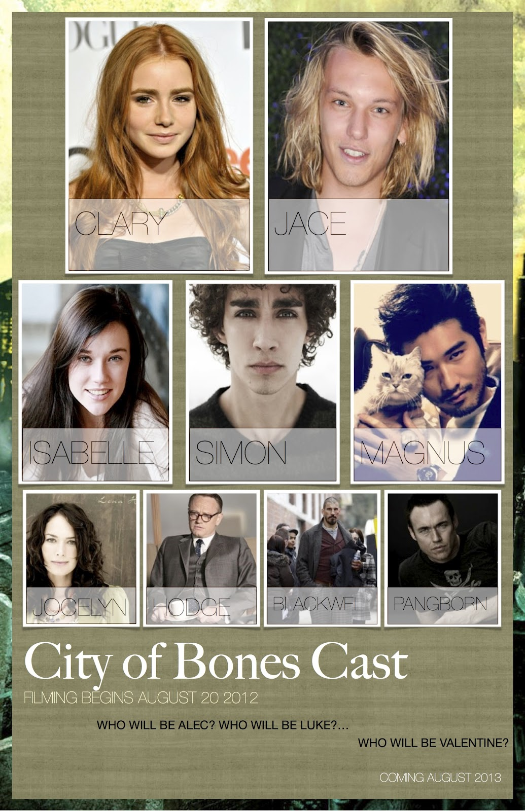 city of ashes characters - photo #2