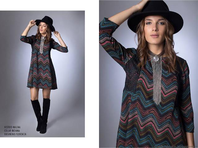 La Cofradía vestidos otoño invierno 2016. Moda otoño invierno 2016.