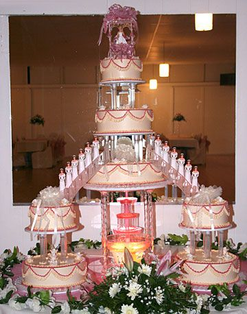 chimakadharoka2012: Wedding Cakes With Fountains And Stairs