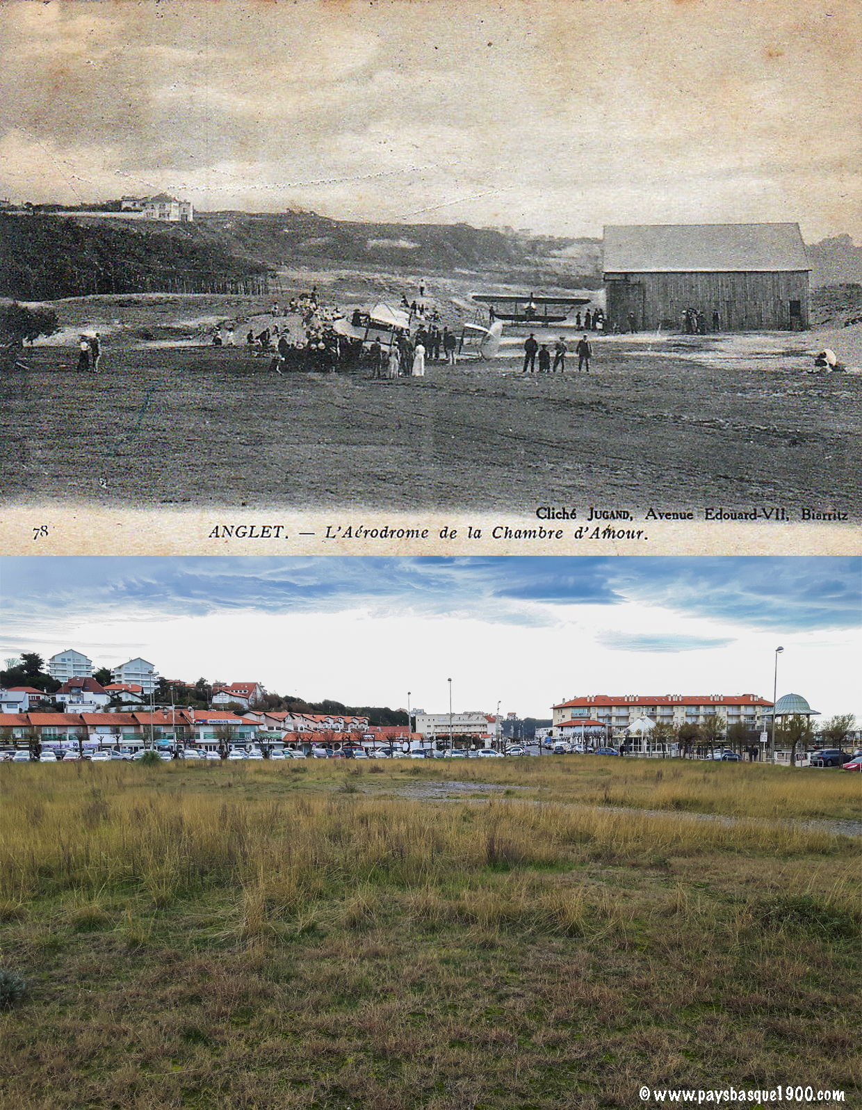 Pays Basque 1900 Anglet d hier   aujourd hui