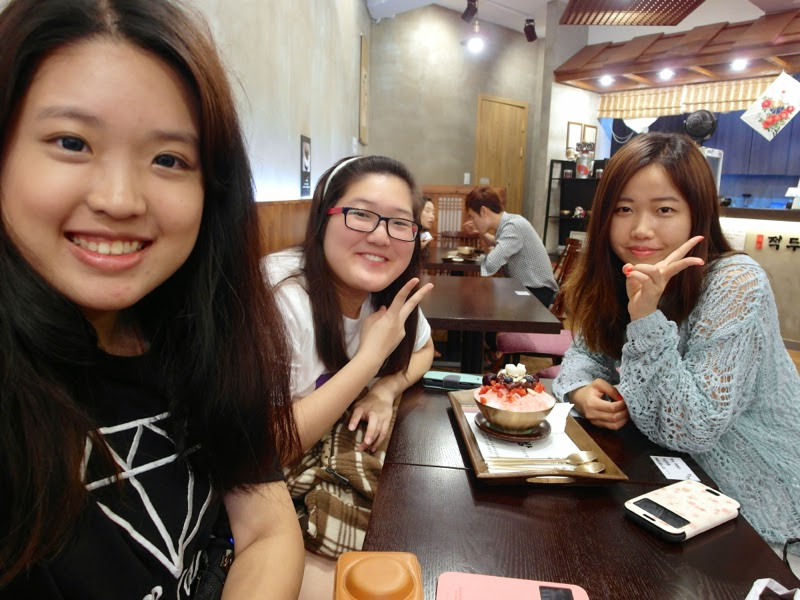 Ewha Summer Studies Jokdubang Strawberry Bingsoo Seoul South Korea lunarrive travel blog
