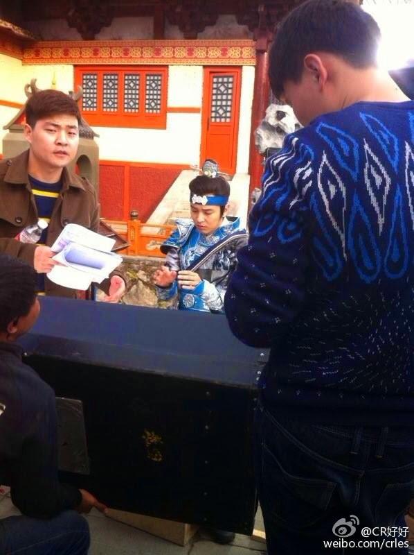 ACTUALIZACIONES SOBRE EL NUEVO DRAMA CHINO Wushen Zhao Zilong (武神赵子龙) donde participa nuestro Kim Jeong Hoon  140931119_794321900659321_593477974226806984_n