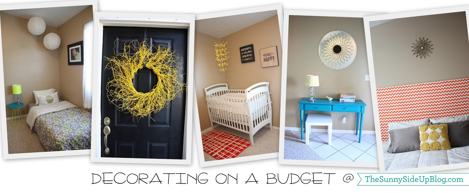 decorating on a budget fun ideas the sunny side up blog