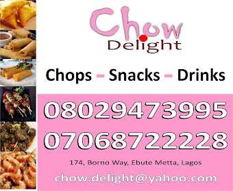 Chow Delights: chops, snacks & drinks for your events at affordable rates
