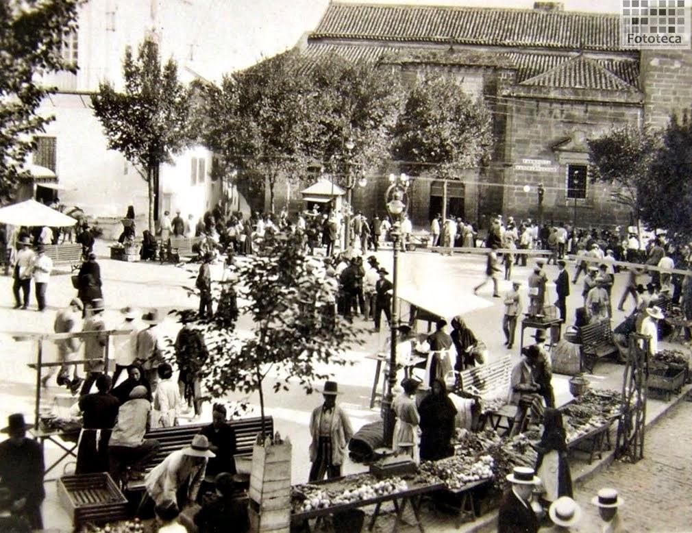 Plaza de España. Años 30