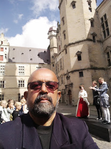 Selfie at Kronborg castle in Denmark