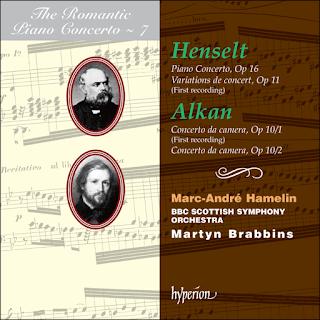 Alkan & Henselt: Piano Concertos