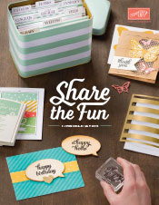 The New Stampin' Up 2015-16 Catalogue is here!