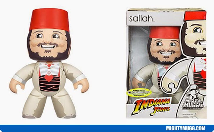 Sallah Indiana Jones Mighty Muggs Exclusives