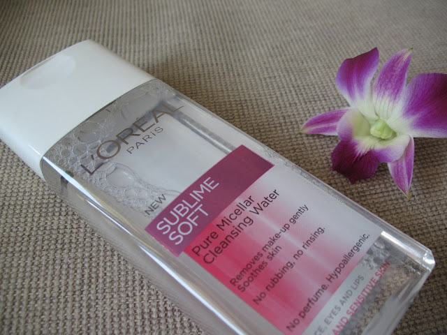 L'OREAL PARIS SUBLIME SOFT PURE MICELLAR CLEANSING WATER