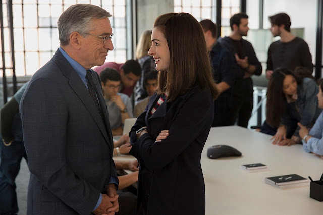 gentlemanfriday, anne hathaway, robert de niro, man lernt nie aus, the intern, movie