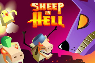 Screenshots of the Sheep in hell for Android tablet, phone.