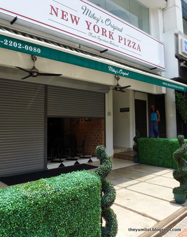 Mikey's Original New York Pizza, Bangsar