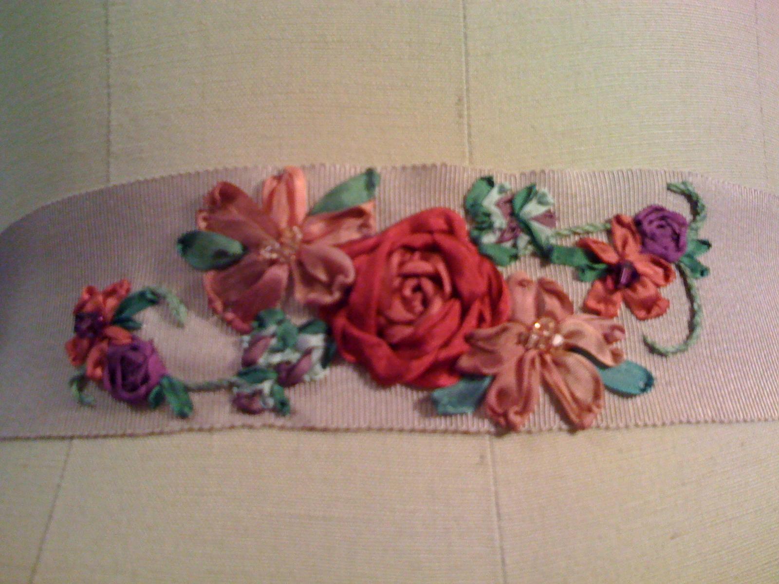 Lily bride designs silk ribbon embroidery