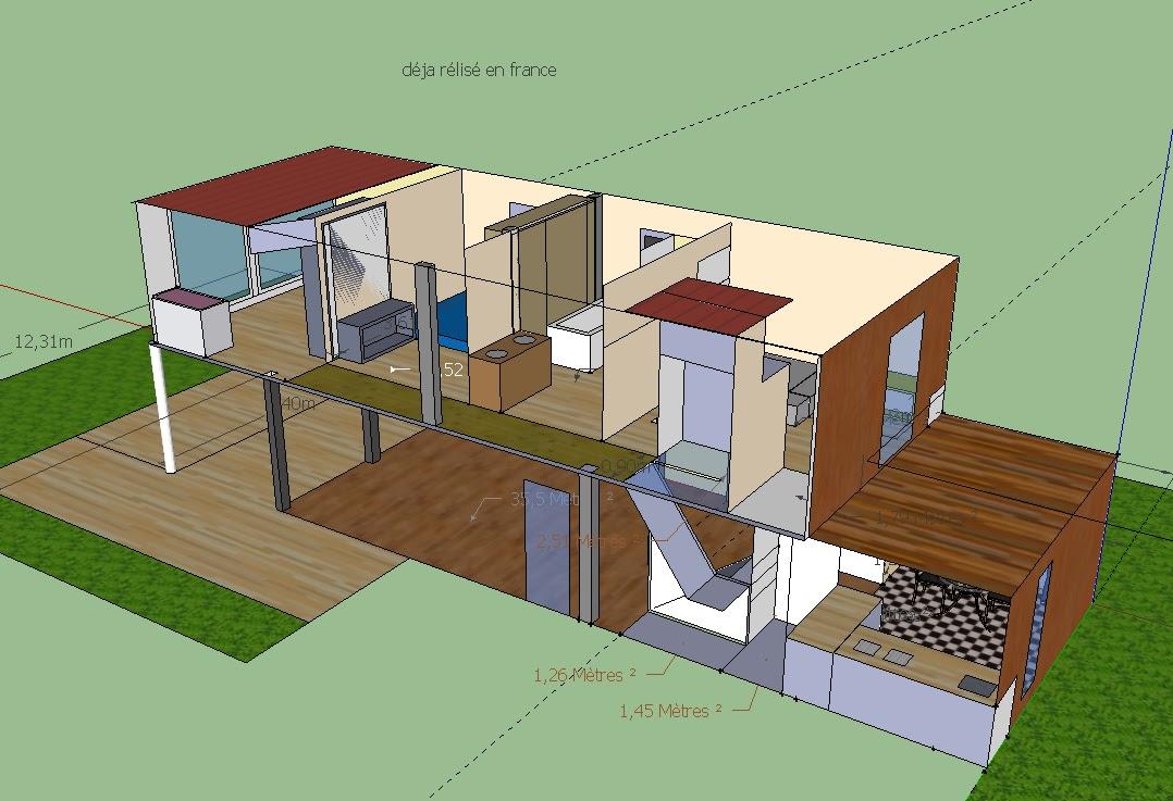 Maison container pc maison en r 1 4 container for Container maison reunion