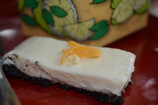Cheese garnish