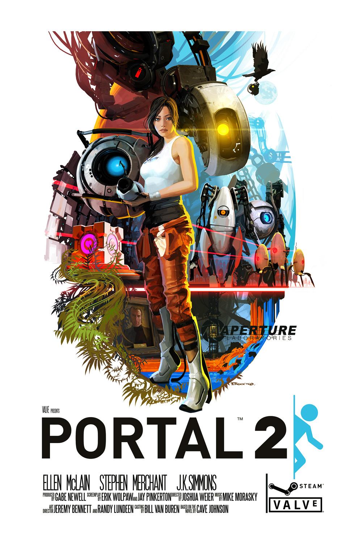 portal 2 affiche