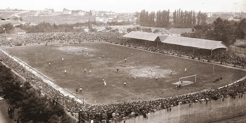 Antiguo estadio de Chamartin