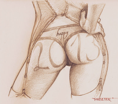 happy new year for the buttocks lovers by rafter