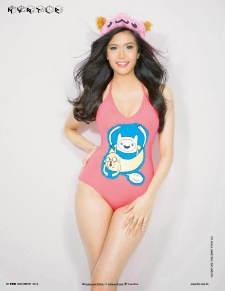 beautiful, exotic, exotic pinay beauties, FHM Magazine, filipina, hot, pinay, pretty, sexy, swimsuit. myrtle sarrosa
